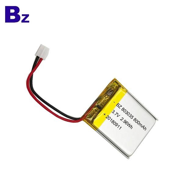 用於車載DVR設備的KC認證電池