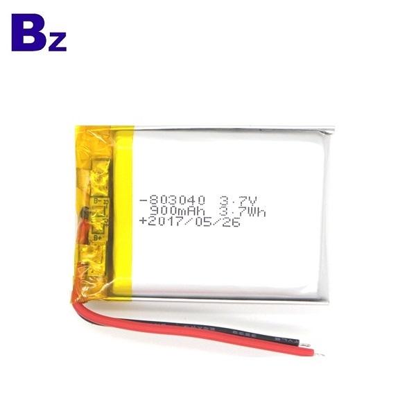 用於數碼產品的900mAh電池