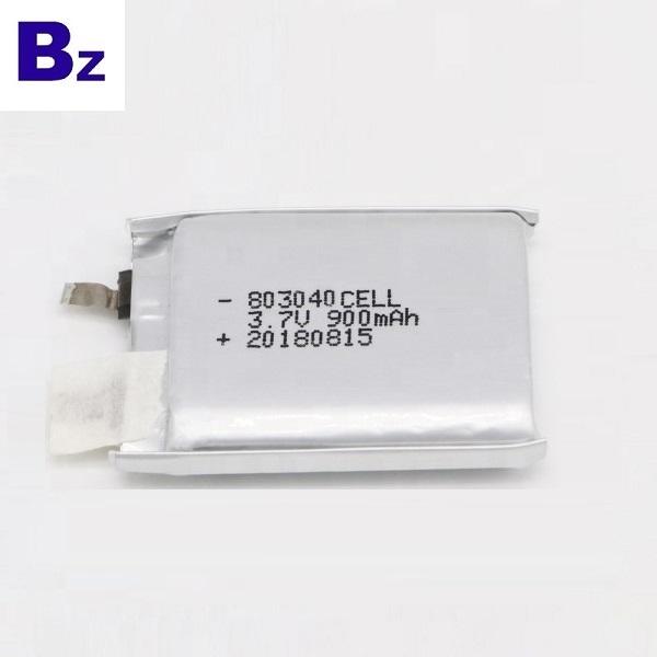 具有KC認證的900mAh Lipo電池