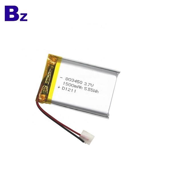 帶有UL認證的803450鋰電池