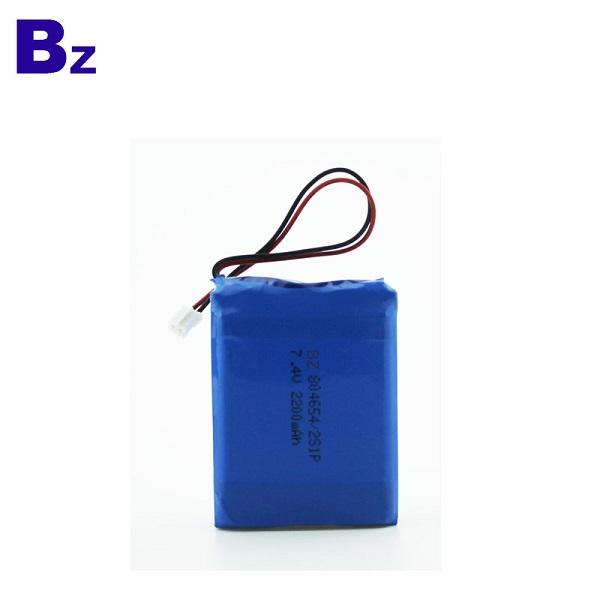 7.4V聚合物鋰離子電池
