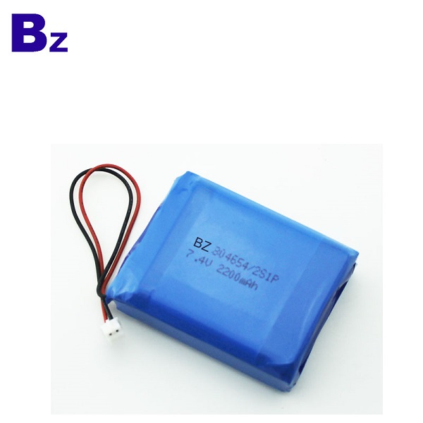 2200mah 7.4V聚合物鋰離子電池