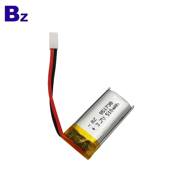 510mAh 3.7V 鋰電池