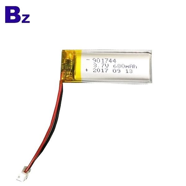 具有KC認證的680mAh Lipo電池