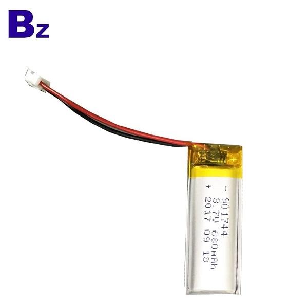 901744 680mAh 3.7V鋰電池