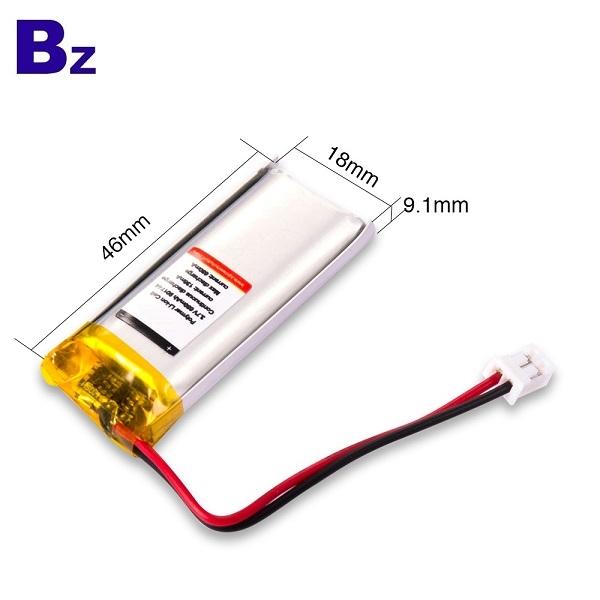 用於電動牙刷的680mAh電池
