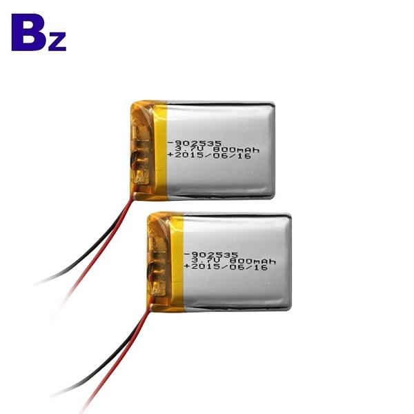 902535 800mAh 3.7V鋰電池