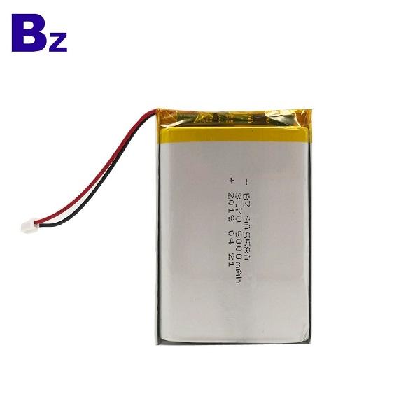 5000mah 3.7V 聚合物鋰離子電池