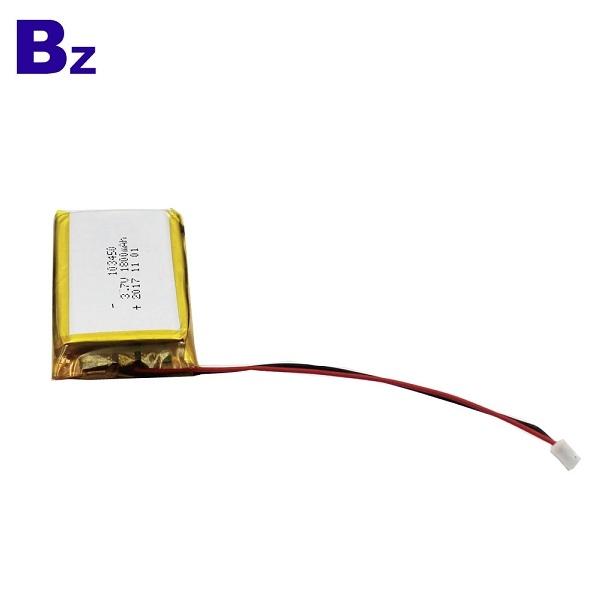 中國鋰電池製造商批發 BZ 103450 1800mah 3.7V 鋰電池