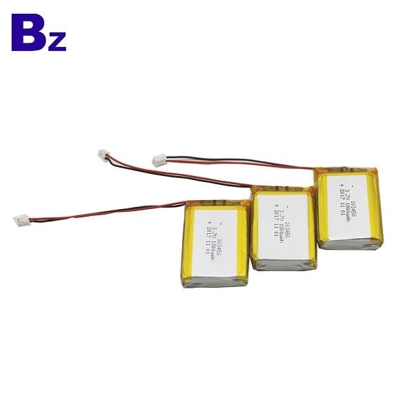 鋰電池製造商批發 BZ 103450 1800mah 3.7V 鋰電池