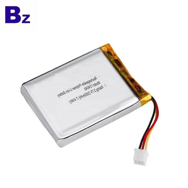 124040 2000mAh 3.7V鋰聚合物電池