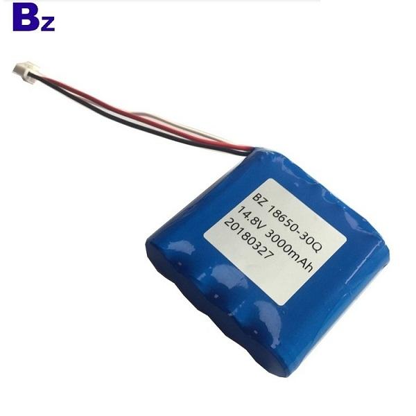 18650 4S 3000mah 15A放電14.8V 鋰離子電池