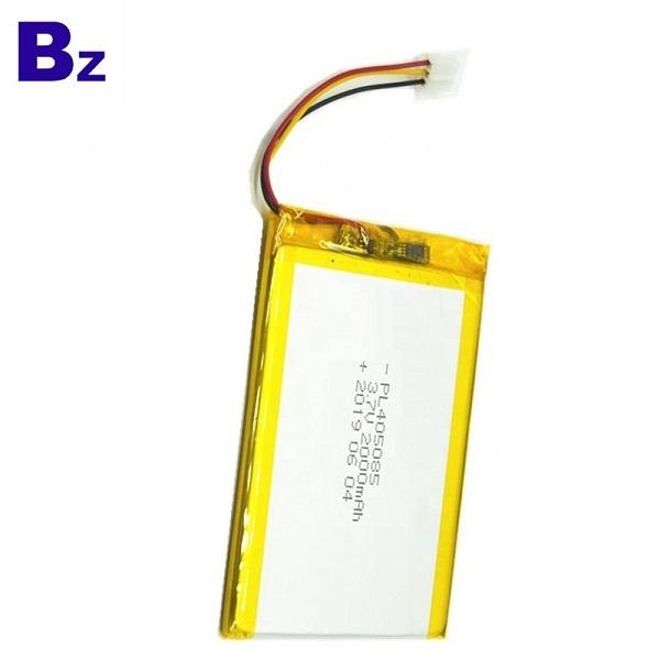 405085 2000mAh 3.7V鋰聚合物電池