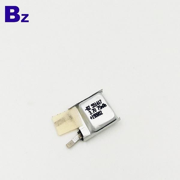 可充電3.7V鋰聚合物電池