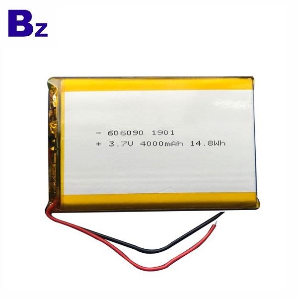 606090 4000mAh 3.7V鋰聚合物電池