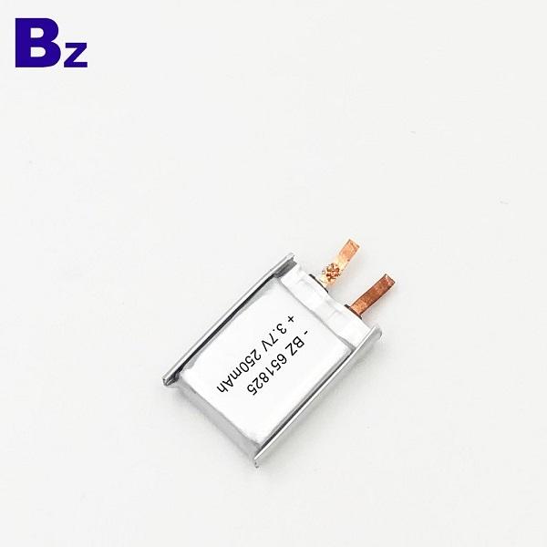 用於智能溫度計的3.7V電池
