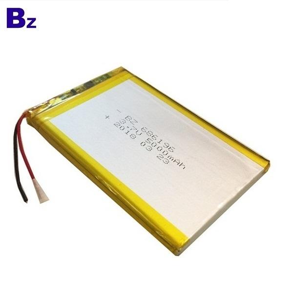 686196 5000mah 3.7V 鋰聚合物電池