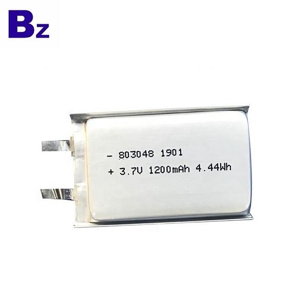 803048 1200mAh 3.7V鋰聚合物電池