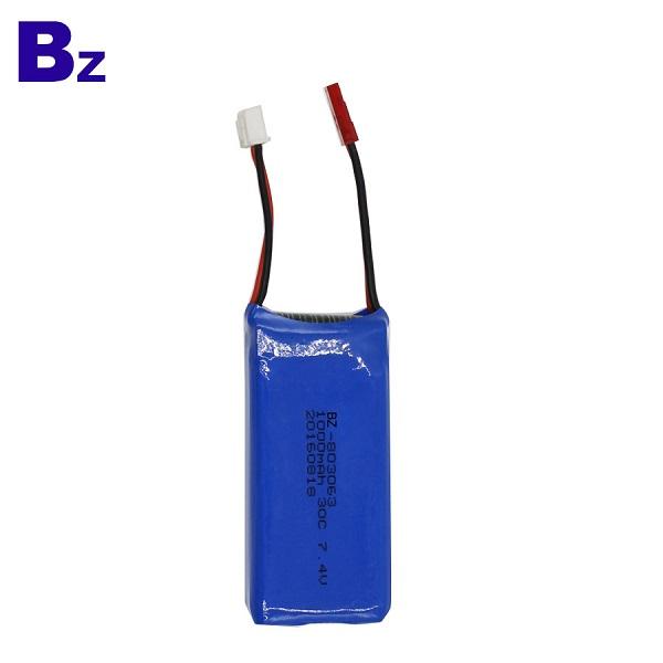 803063 1000mah 7.4V 30C 可充電 LiPo 電池組