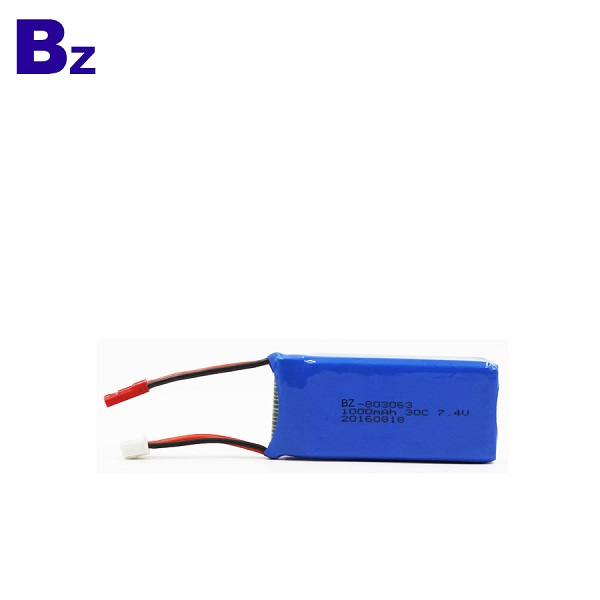 1000mah 30C 可充電 LiPo 電池組