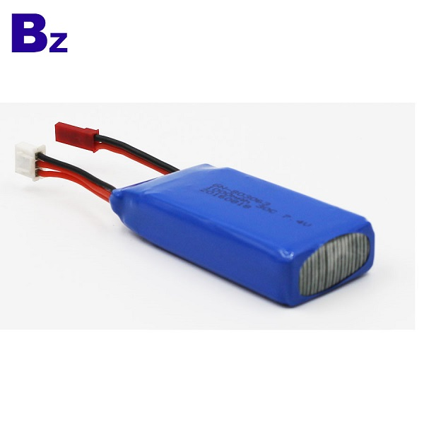 1000mah 7.4V 可充電 LiPo 電池組