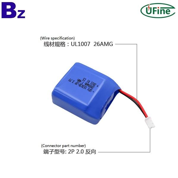 2021熱門美容產品2000mAh鋰電池