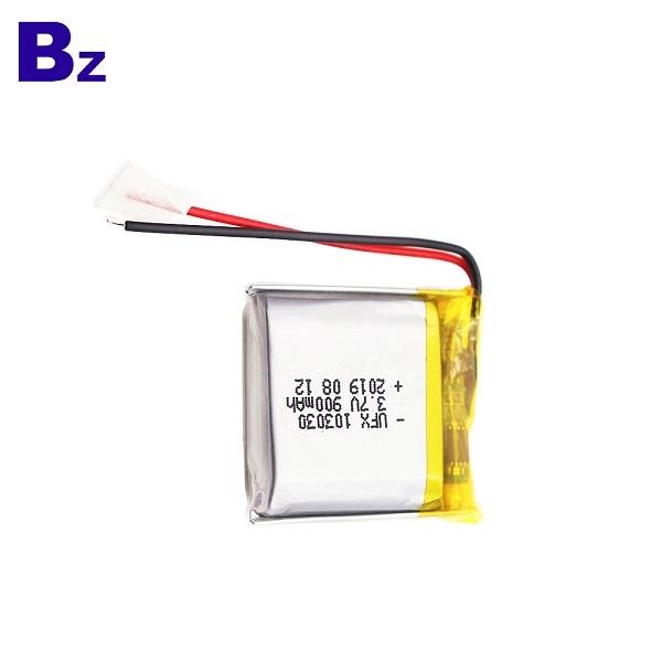 900mAh 3.7V鋰聚合物電池