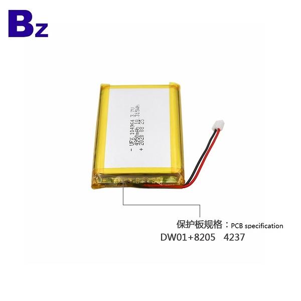 中國工廠熱銷4950mAh鋰電池