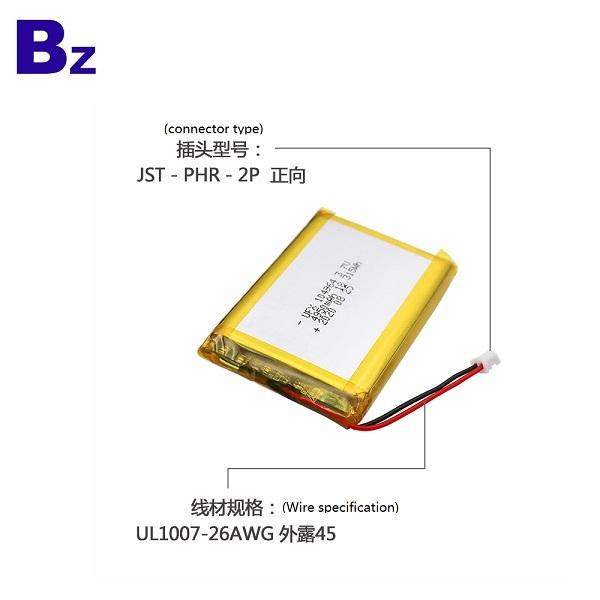 104964 4950mAh 3.7V鋰聚合物電池