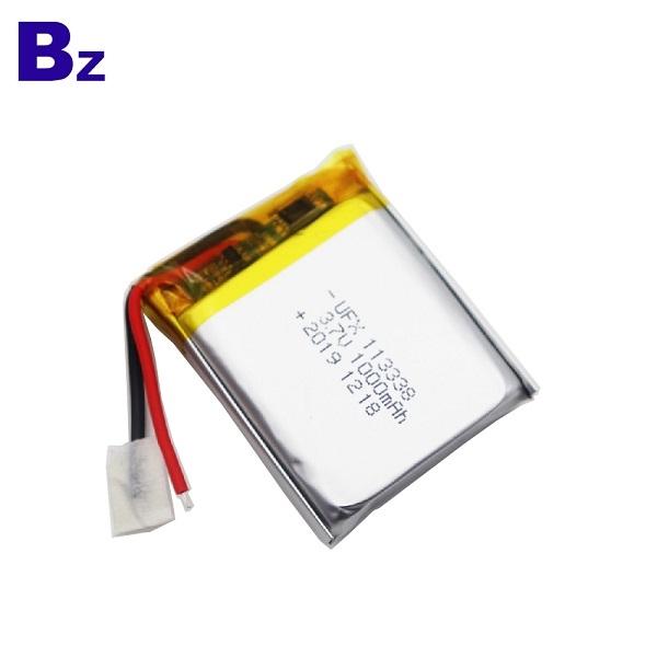 最佳價格1000mAh鋰聚合物電池