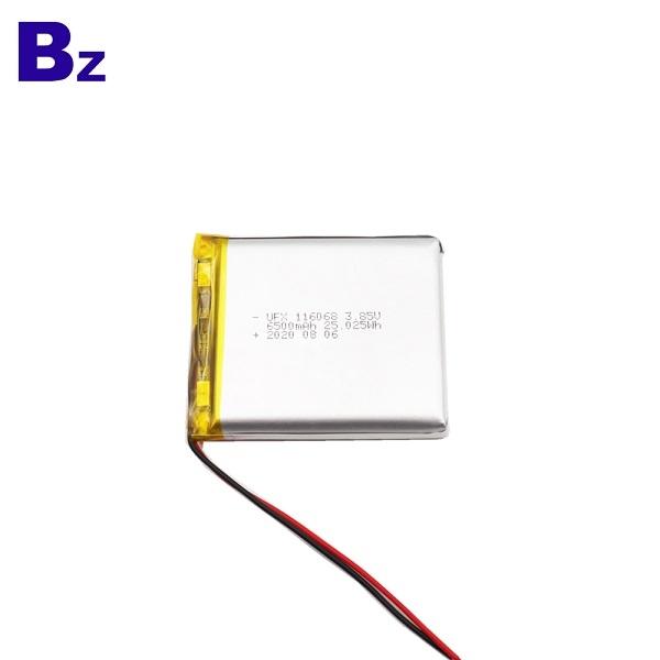 中國最佳價格6500mAh鋰離子電池
