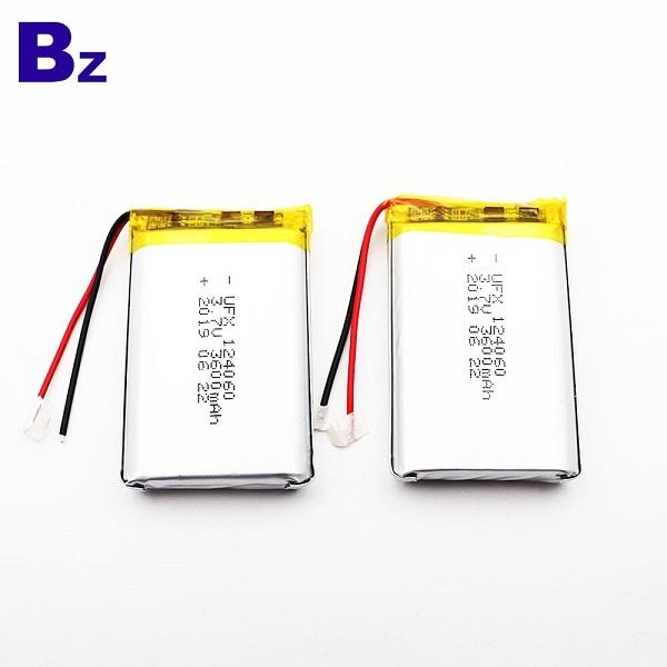 124060 3600mAh 3.7V鋰聚合物電池