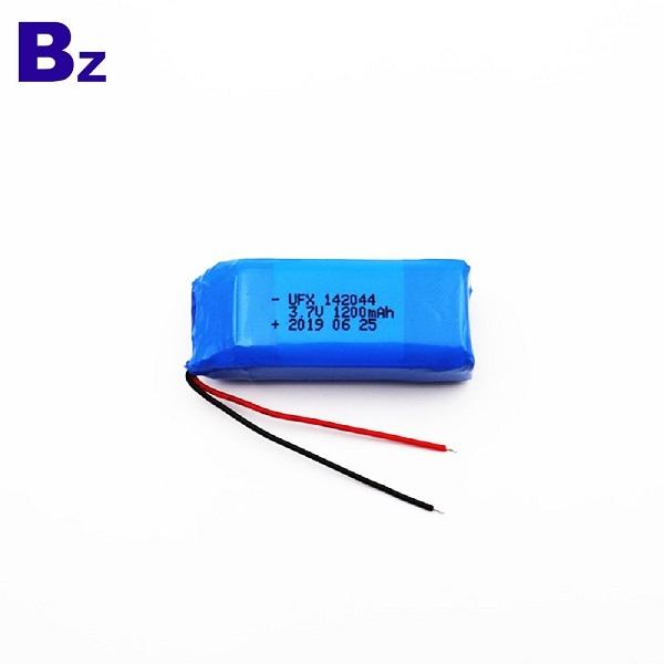 製造商定制1200mAh鋰電池