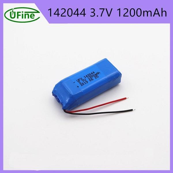 142044 1200mAh 3.7V鋰聚合物電池