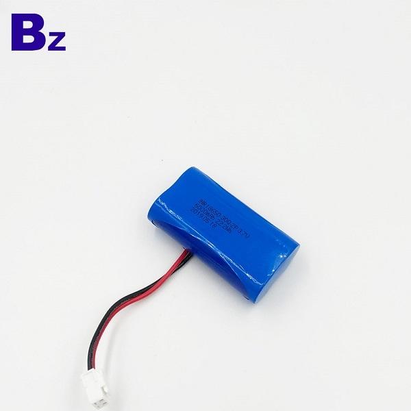 18650-30Q-2P 6000mAh 3.7V鋰聚合物電池