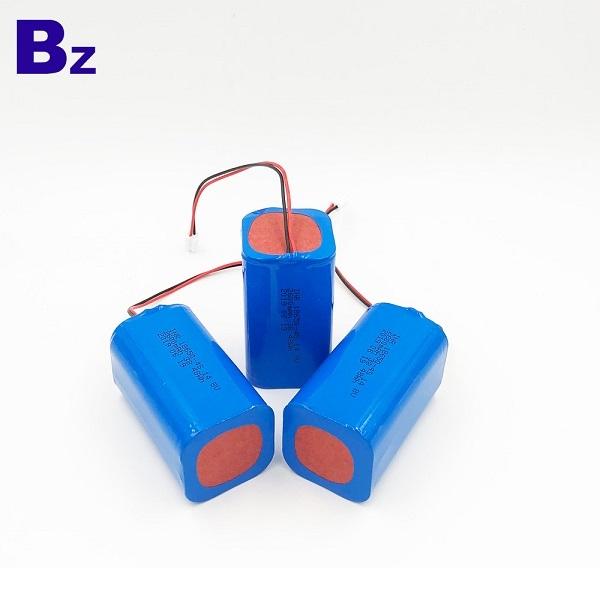 帶電線和插頭的2600mAh鋰離子電池組