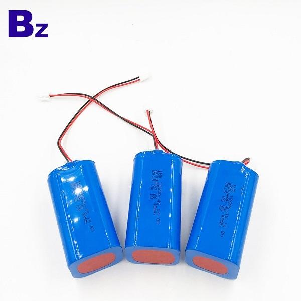 18650-4S 2600mAh 14.8V鋰離子電池組
