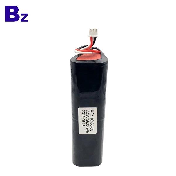 中國最佳2600mAh 22.2V圓柱電池
