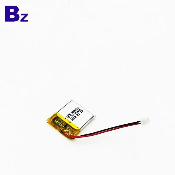 302020 70mAh 3.7V鋰聚合物電池