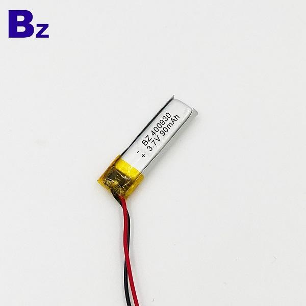 400930 90mAh 3.7V鋰聚合物電池