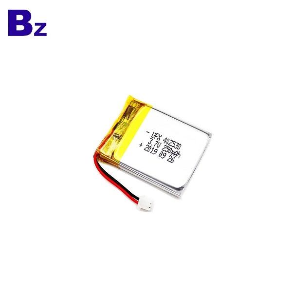 402530 3.7V 250mAh鋰聚合物電池
