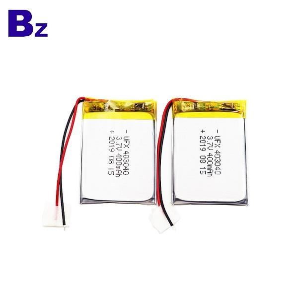 403040 3.7V鋰聚合物電池
