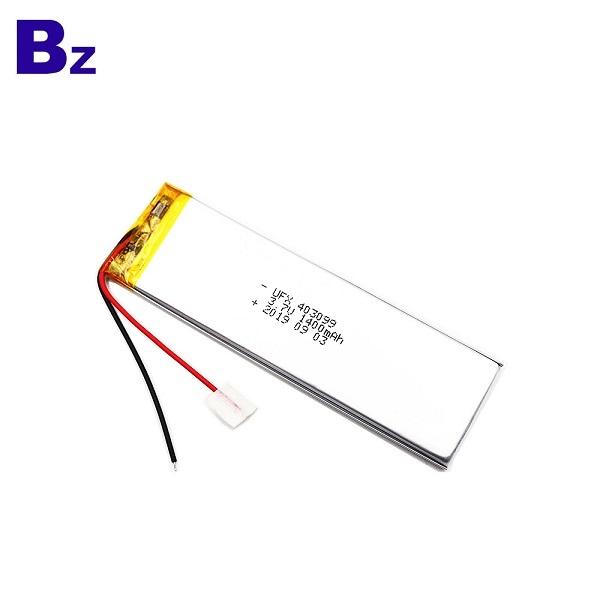 403099 1400mAh 3.7V鋰聚合物電池