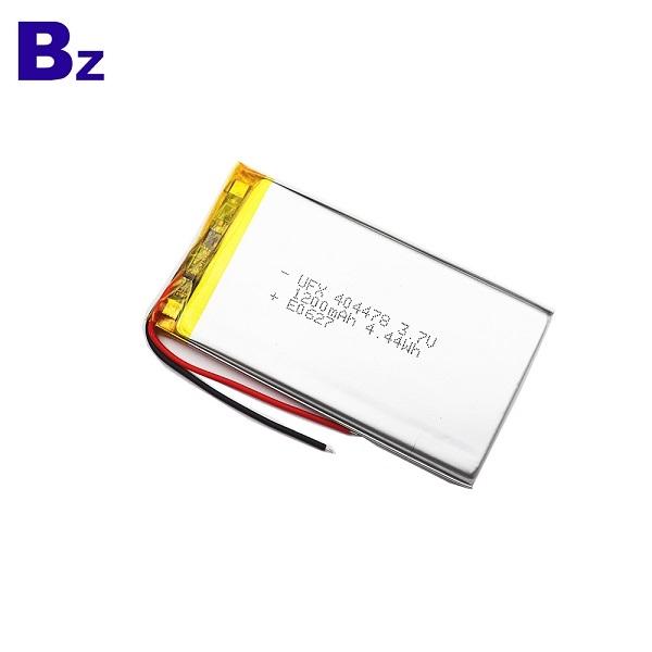 404478 1200mAh 3.7V鋰聚合物電池