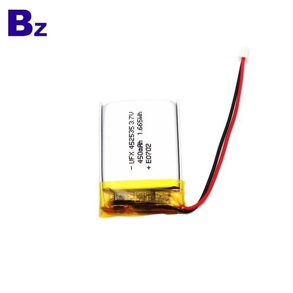 452535 450mAh 3.7V鋰聚合物電池