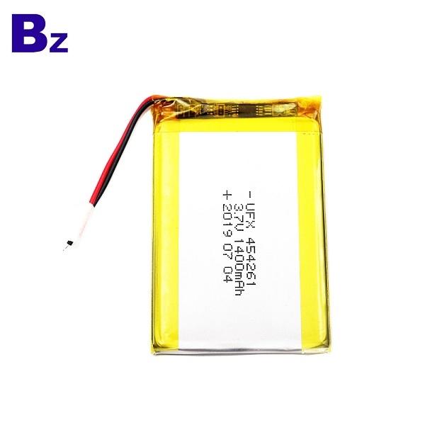 帶導線的1400mAh鋰聚合物電池