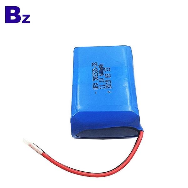 廠家供應400mAh鋰電池