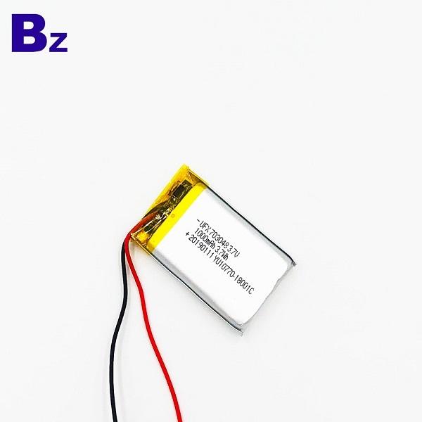 703048 1000mAh 3.7V鋰聚合物電池