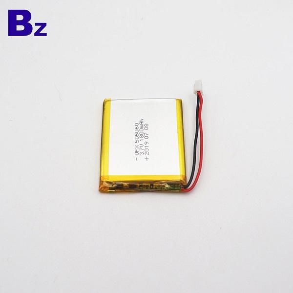 505060 1800mAh 3.7V鋰聚合物電池