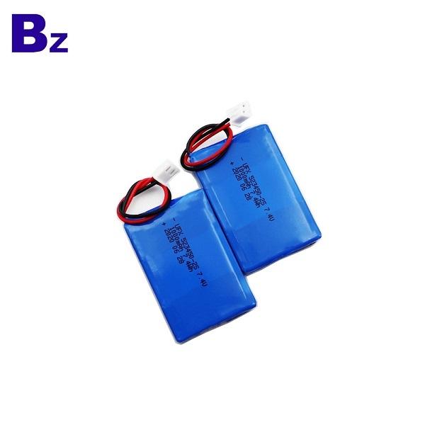 中國專業定制1000mAh鋰電池